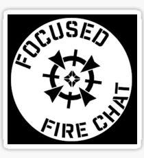 Classic Round FFC  Sticker