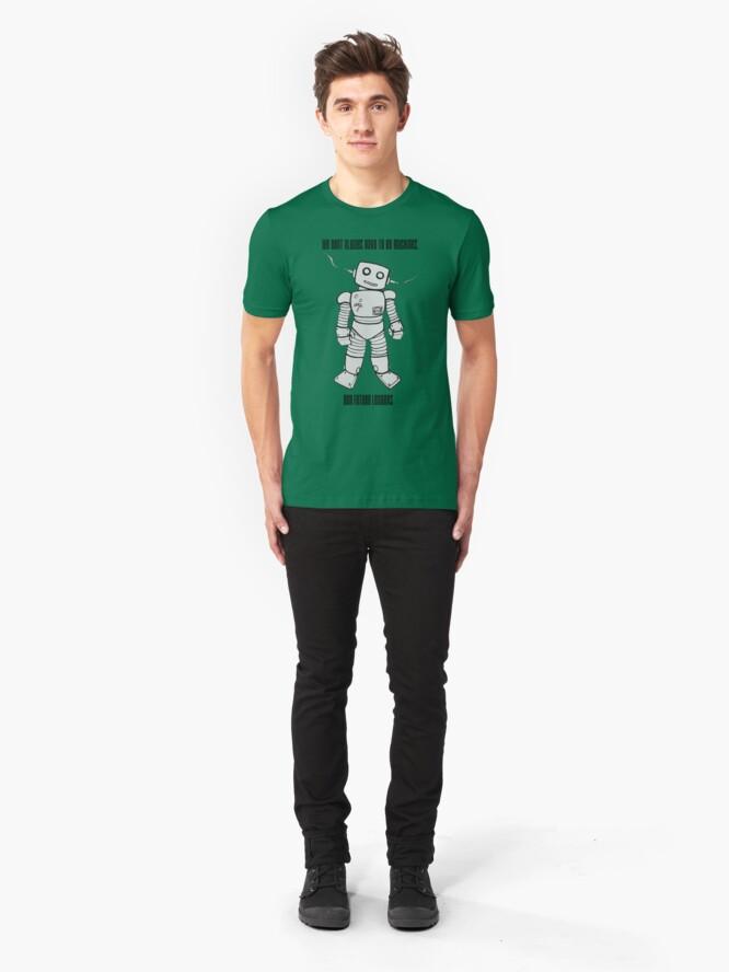 Alternate view of Robot Machines Slim Fit T-Shirt