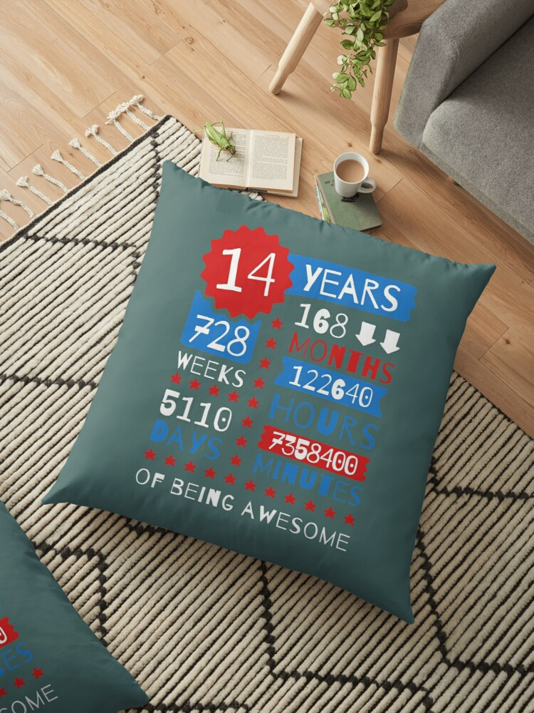 Goede 14 Years Of Being Awesome - Splendid 14th Birthday Gift Ideas OX-46