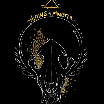 Hidingmonster Wolf Skull by HidingMonster