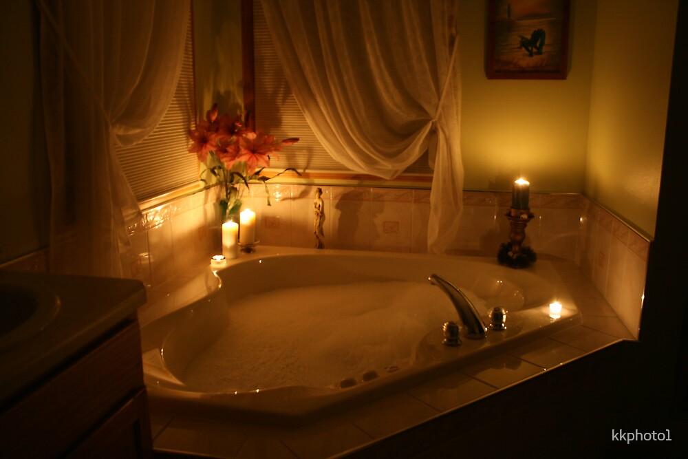 Candlelight Bath by kkphoto1
