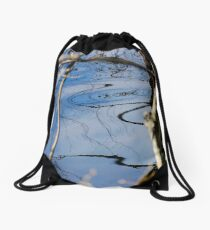 Reflection 02- Pine Barrens, NJ Drawstring Bag