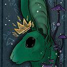 King rabbit  by HidingMonster