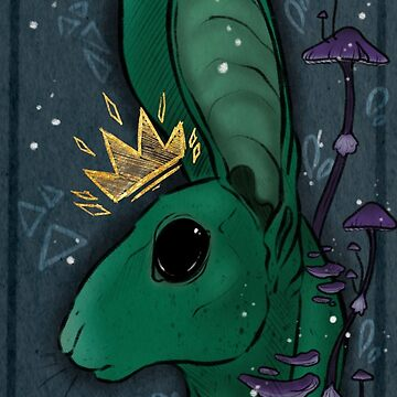 King rabbit  by HidingMonster