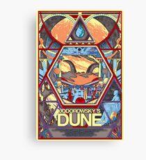 Jodorowsky's Dune Documentary Movie Poster Canvas Print