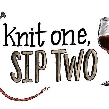 Knit one, sip two by sarahekj