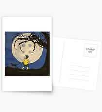 Coraline Button Moon Postcards
