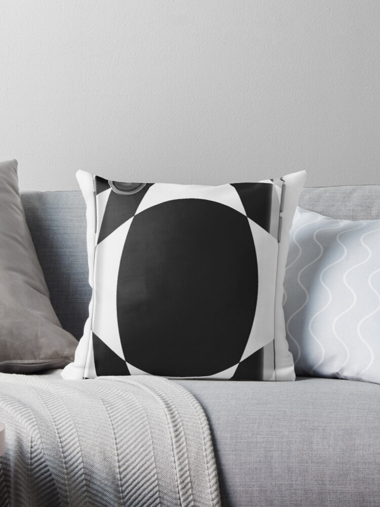 Black White Chess Checkered Pattern Abstract Flag