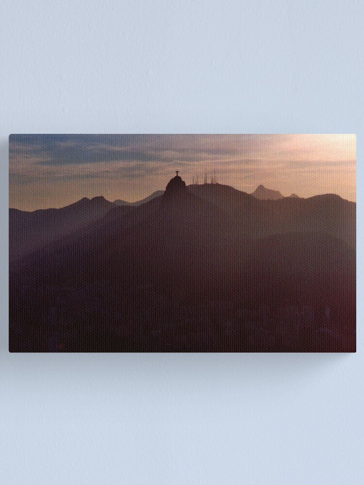 Alternate view of Sunset in Rio Canvas Print