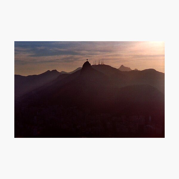 Sunset in Rio Photographic Print