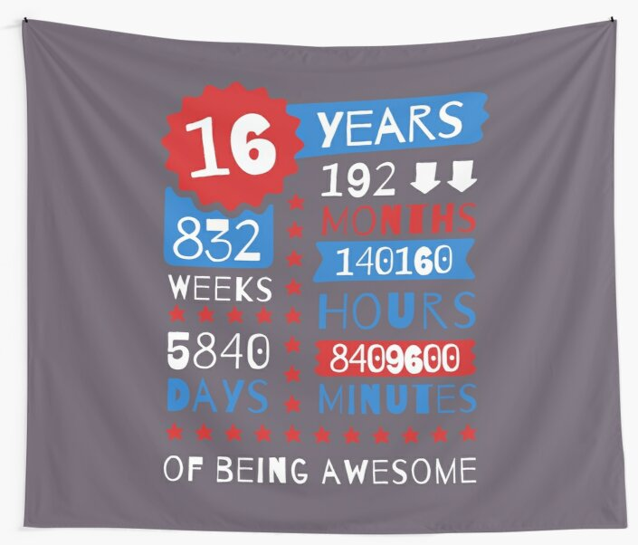 16 Years Of Being Awesome