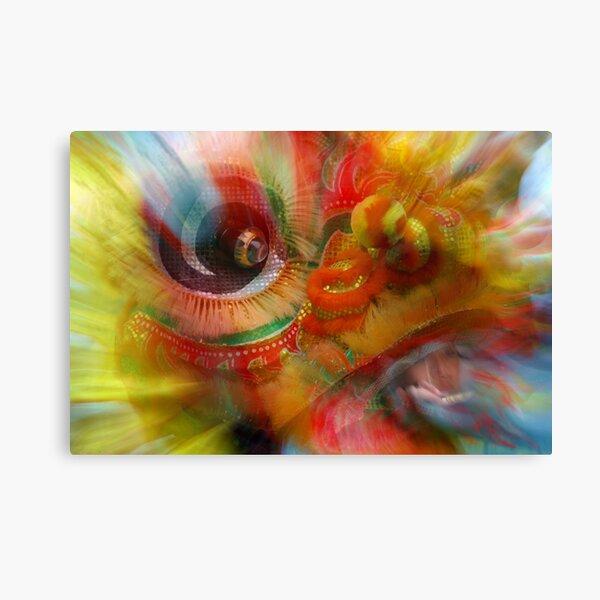 The Dragon Dancer Canvas Print