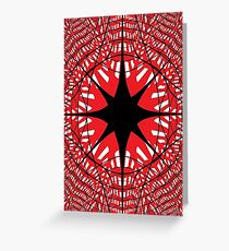 #abstract, #star, #christmas, #pattern, #design, #light, #decoration, #holiday, #blue, #illustration, #black, #white, #chess, #checkered, #pattern, #abstract, #flag, #board Greeting Card
