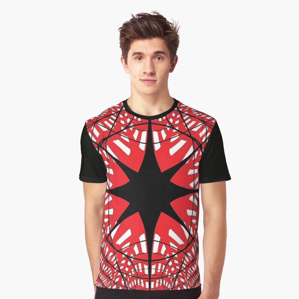 #abstract, #star, #christmas, #pattern, #design, #light, #decoration, #holiday, #blue, #illustration, #black, #white, #chess, #checkered, #pattern, #abstract, #flag, #board Graphic T-Shirt