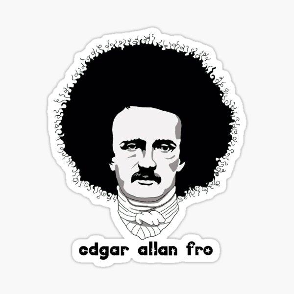 Edgar Allan Fro Sticker