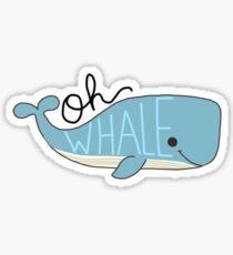 Oh Whale Sticker Sticker