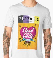 non binary head over heels playbill Men's Premium T-Shirt