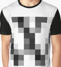 #black, #white, #chess, #checkered, #pattern, #abstract, #flag, #board Graphic T-Shirt