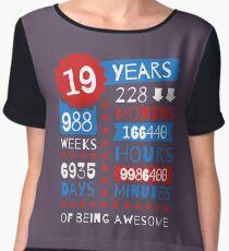 19th bday idea t shirts redbubble