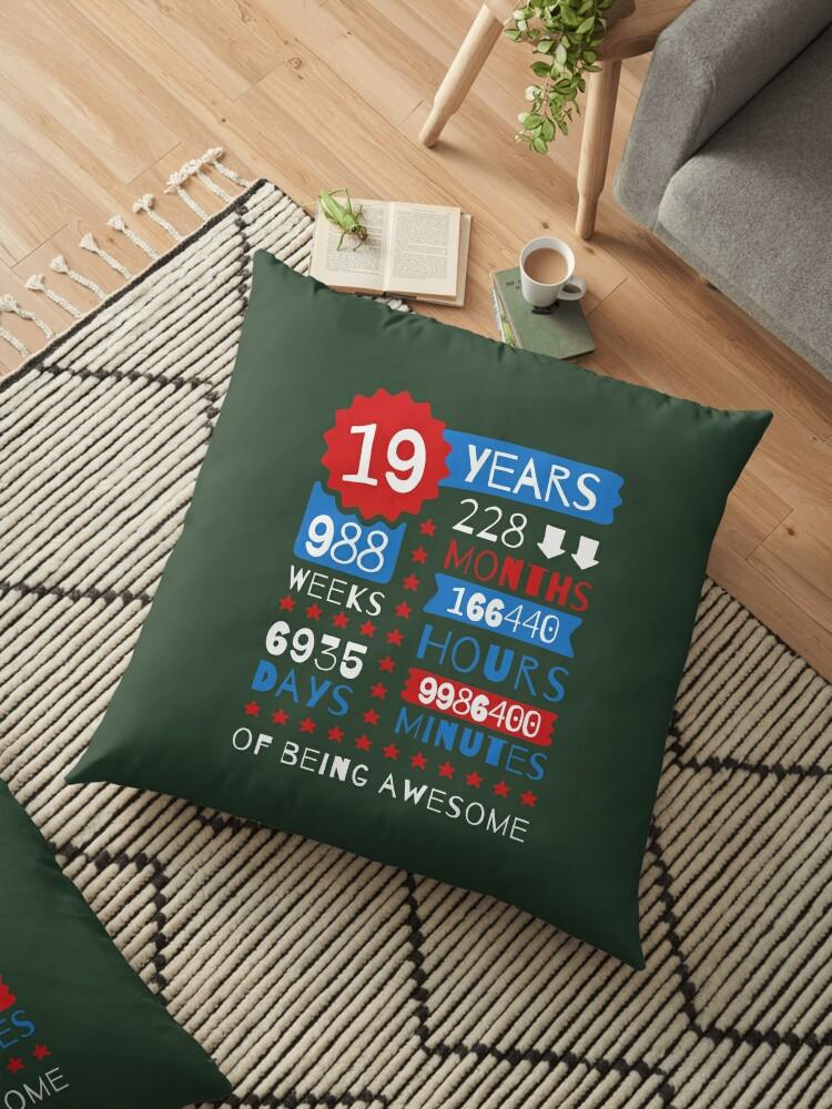 Verbazingwekkend 19 Years Of Being Awesome - Splendid 19th Birthday Gift Ideas EO-61