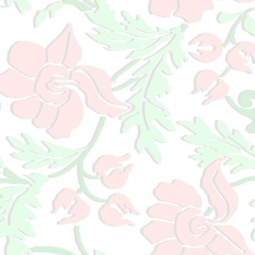 Simple Floral Pattern  by justrachna