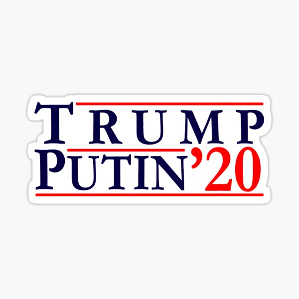 Putin riding Trump Vinyl Decal Bumper Wall Laptop Window Sticker 5