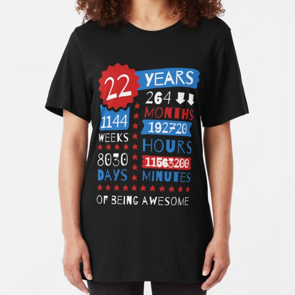 Aged To Perfection 1997 Mens Funny 22nd Birthday T-Shirt 22 Year Old Present
