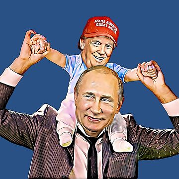 Trump and Putin Art by biggeek