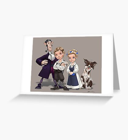 The Cast Greeting Card