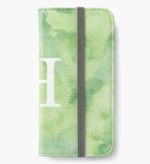 Pear Watercolor Η iPhone Wallet/Case/Skin