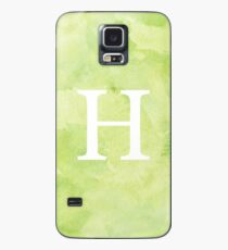 Lime Watercolor Η Case/Skin for Samsung Galaxy