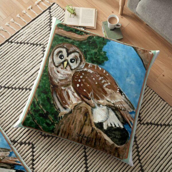 Night Owl Floor Pillow