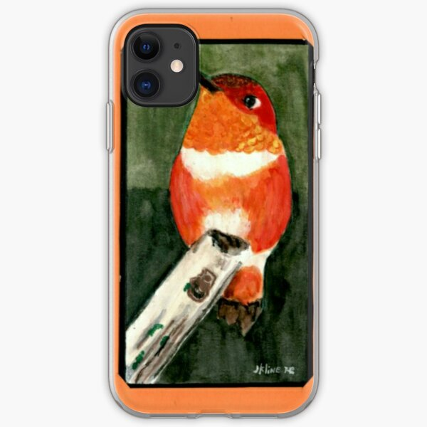 Hummingbird  iPhone Soft Case