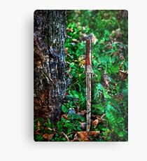 The Bloody Forest Fine Art Print Metal Print