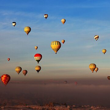 Fairytale Dreams of Hot Air Balloons  by The-Drone-Man
