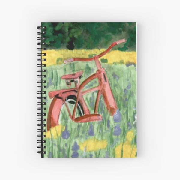 Abandoned Bike Spiral Notebook