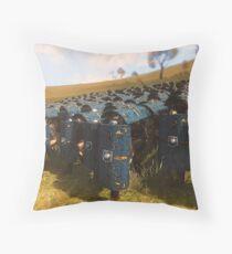 Roman Legion in Battle  Floor Pillow