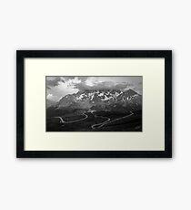 Col du Galibier, France Framed Print