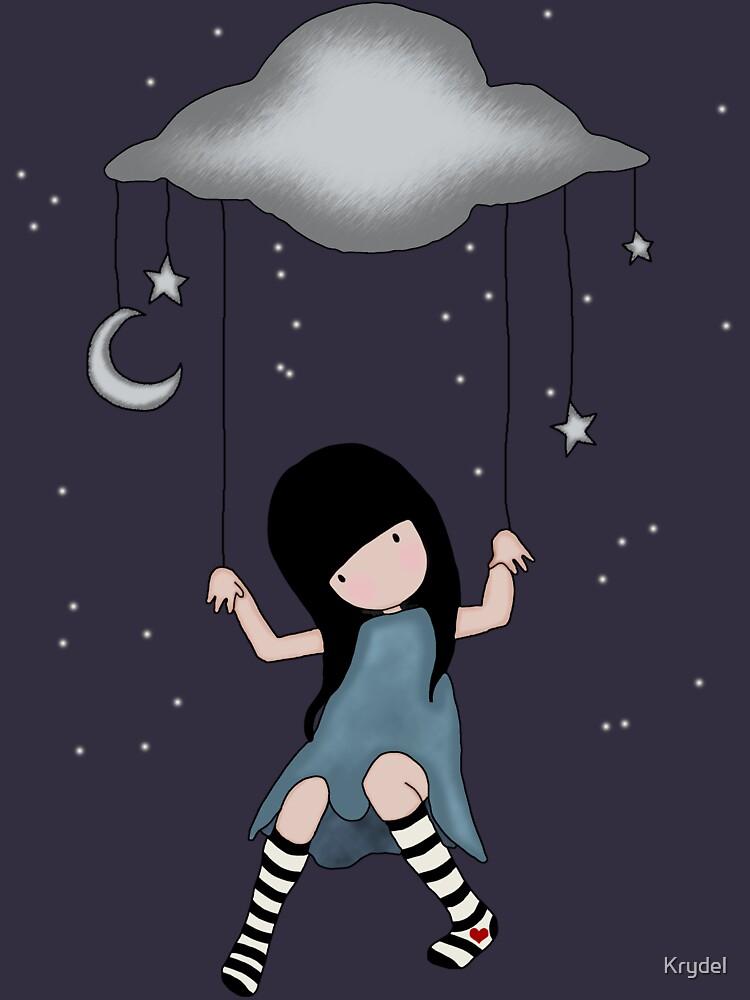 Fairy Girl in the Night Sky by Krydel