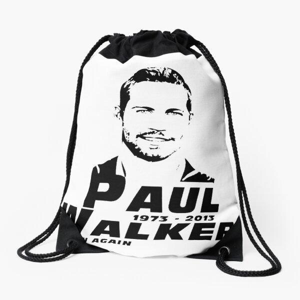 Paul Walker Drawstring Bag