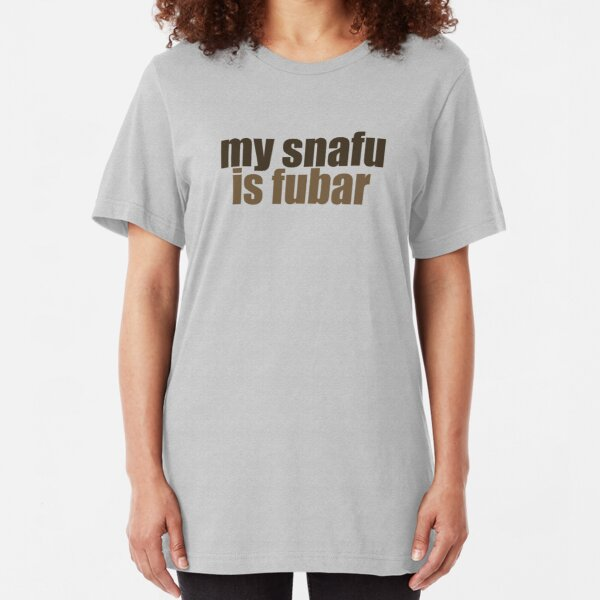 snafu Slim Fit T-Shirt