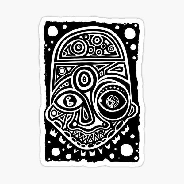 Maske Totem Traum  Sticker