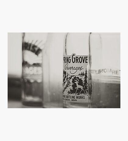 Vintage Bottles Photographic Print