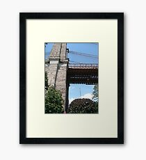 Brooklyn bridge, #Brooklyn, #bridge, #BrooklynBridge Framed Print