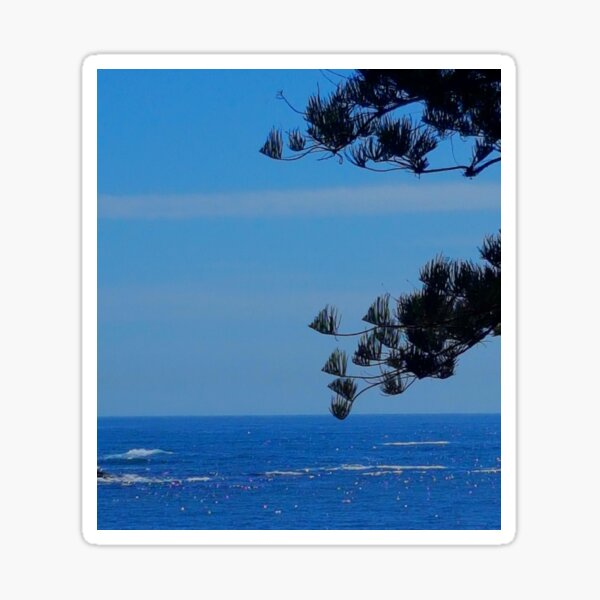 Kiama Beachfront Silhouette  Sticker