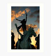 "equo ne credite - ""do not trust the horse"" Art Print"