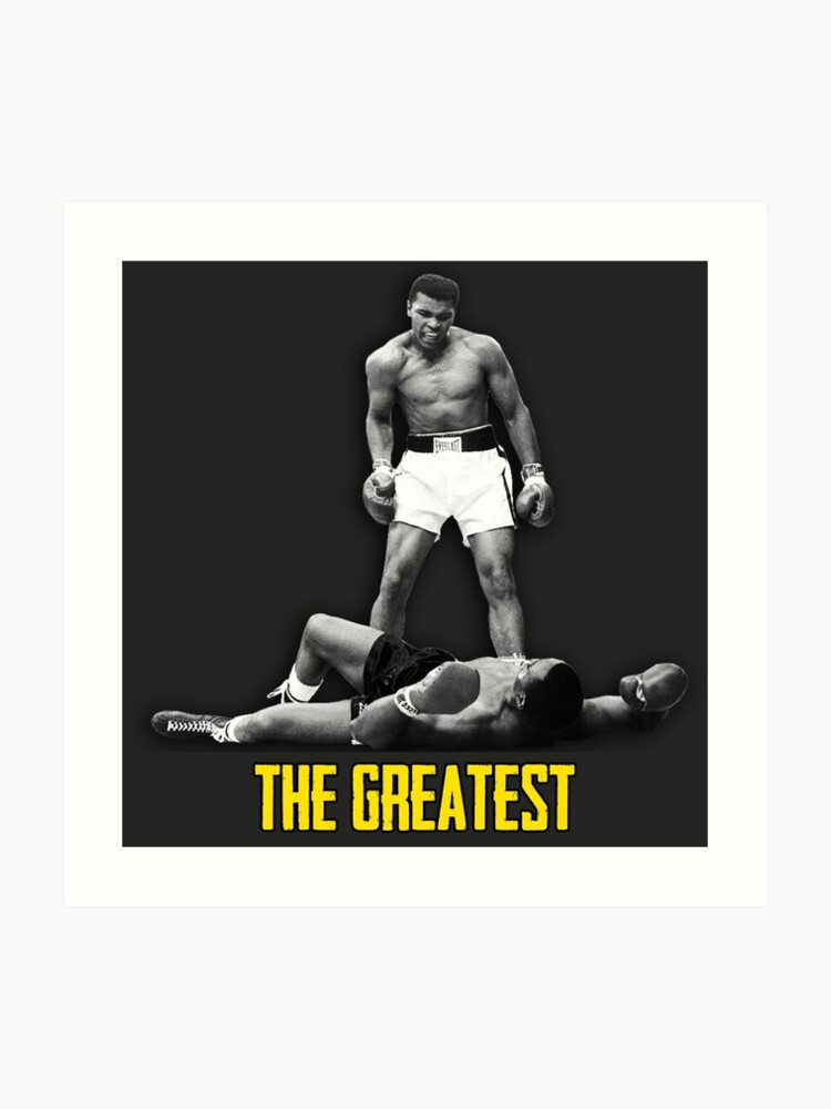 MUHAMMAD ALI NEW POSTER THE GREATEST BOXING PRINT