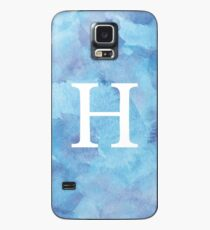 Sapphire Watercolor Η Case/Skin for Samsung Galaxy