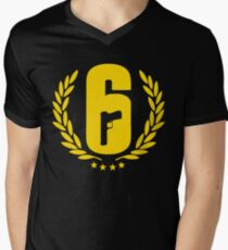 Rainbow 6 Siege Men's V-Neck T-Shirt