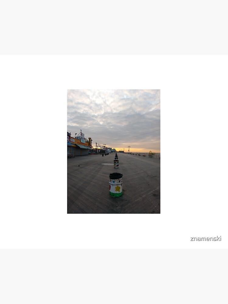 Morning, Coney Island Beach, #Morning, #Coney, #Island, #Beach, #ConeyIsland, #ConeyIslandBeach by znamenski